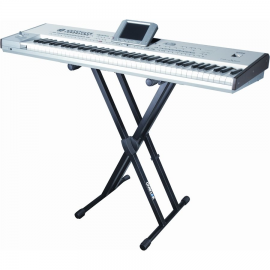 QUIK LOK T550 DUAL KEYBOARD SUPPORT WITH LOCK