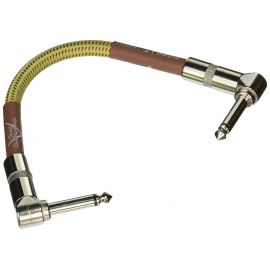FENDER CUSTOM SHOP PATCH CABLE TWEED 15CM