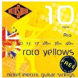 ROTOSOUND GAME STRING ELECTRIC GUITAR R10 10-
