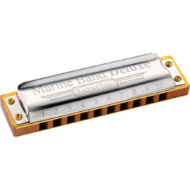 HOHNER MARINE BAND DELUXE 2005/20 AND HARMONICA