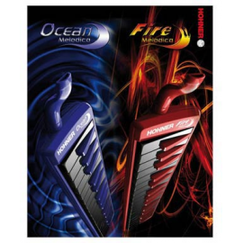 HOHNER FIRE 32 MELODIC RED