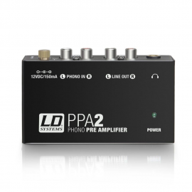 LD SYSTEMS PPA 2 PREAMPLIFIER RIAA TOCADISKS