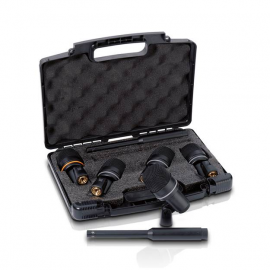 LD SYSTEMS D1017 SET 7 MICROPHONES PERCUSSION