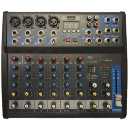 EK AUDIO KT08UP TABLE OF MIXES WITH EFFECTS