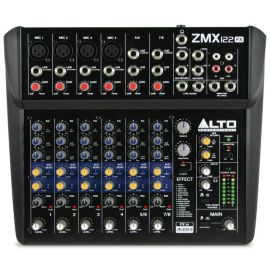 HIGH PROFESSIONAL ZMX122FX MIXTURES TABLE