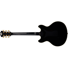 D' ANGELIC GUITAR EXCEL OF BLACK ELECTRIC GUITAR